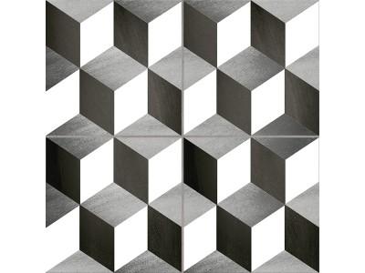 Cube Precorte Gris 45x45