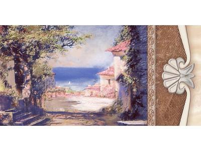 Декор Шарм Белладжио-4 Хани 25х50