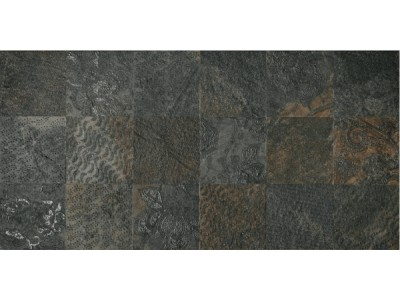 Slate Ramage Decor Nat-Rett Black 39,6x79,4