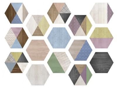 Art Deco Hexa 23,2x26,7