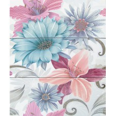 Decor Soul Flower Azul 20 x 50 x 3