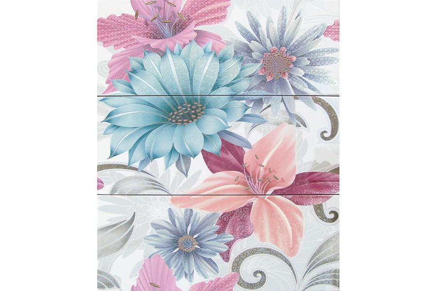 Купить Decor Soul Flower Azul 20 X 50 X 3