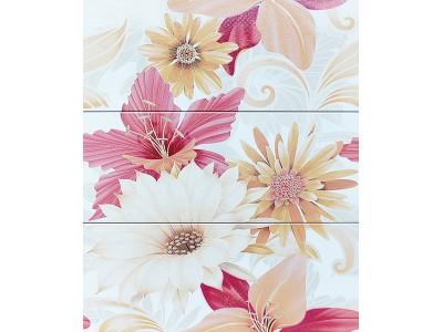 Decor Soul Flower Naranja 20 x 50 x 3