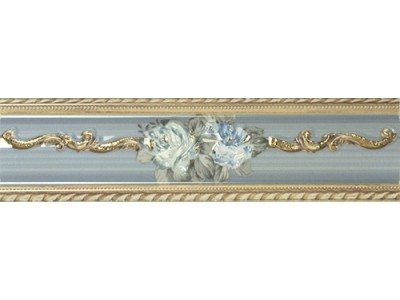 Romance Desire Cenefa  Azul 6,5x25