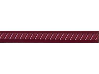 Paisley Burdeos Rojo Cordon 2,5 x 20