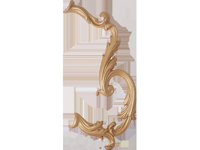 Louvre Curve Bone Decor 23 x 35
