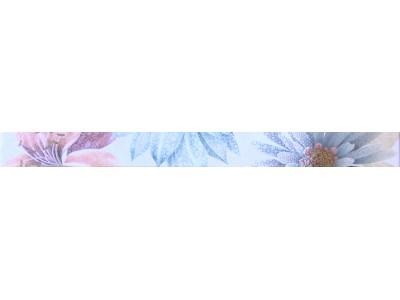 Cenefa Soul Flower Azul 4.5 x 50