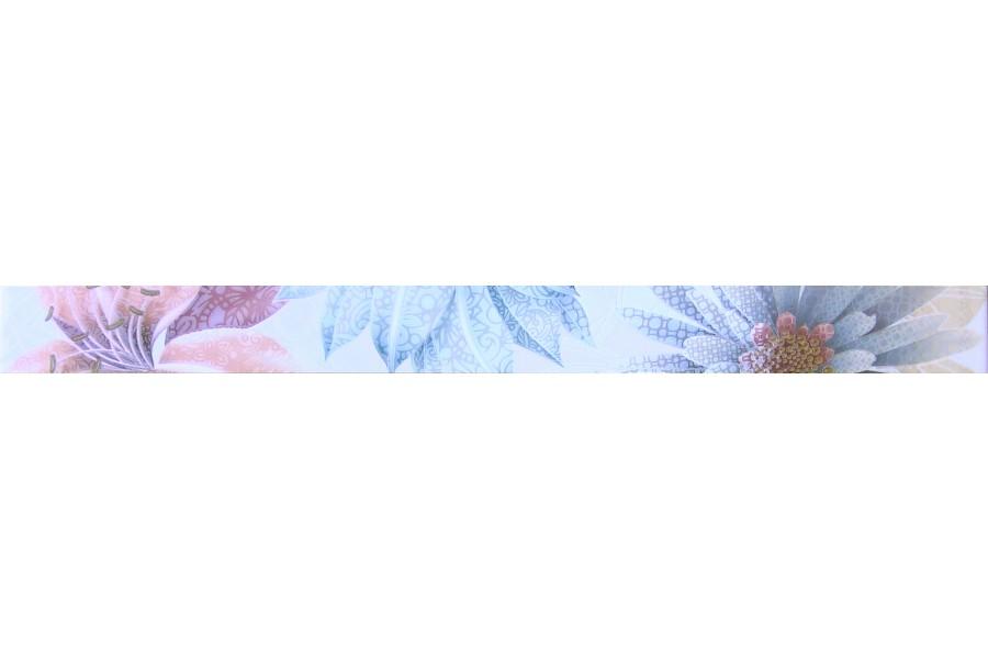 Купить Cenefa Soul Flower Azul 4.5 X 50
