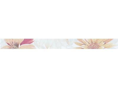 Cenefa Soul Flower Naranja 4.5 x 50
