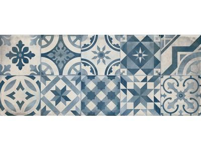 Настенная плитка MONTBLANC Decor Blue 20x50