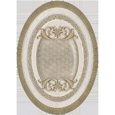 Venecia Oro-Beige Medallon 14x10
