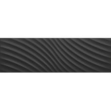 Icon Glossy Waves Black 25,2x80
