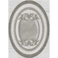 Venecia Plata-Gris Medallon 14x10