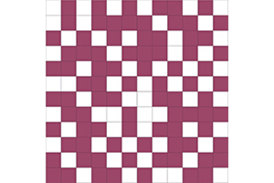 Купить Shine Mosaico White-Lila 30X30