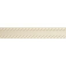 Glam Ivory Listello 7x40