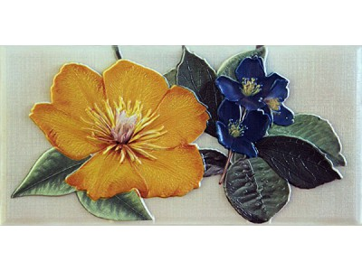 Violetta Ocre Cenefa-3  10 x 20