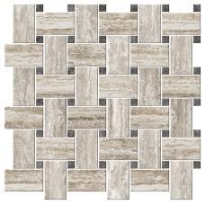Italian Icon Vein Cut Chesterfield Mix Caldo Mosaico 42,1x42,1 Nat (под заказ)
