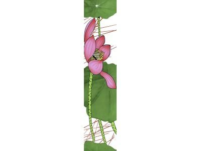 Listello Lotus 10 x 45