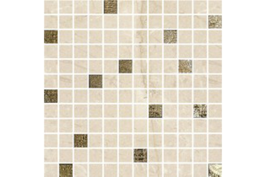 Купить Мозаика Dante Mosaico Marfil-Gold 30X30