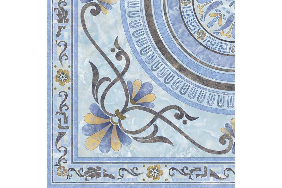 Купить Вставка Marmol  Roseton Esg Azul   60X60X4