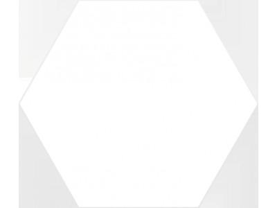 Basic Hex.25 White 25x22