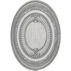 Hermes Plata-Perla Medallon 14x10