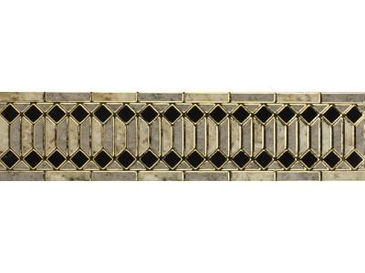 Бордюр RIMINI GRIS Listello 15x60