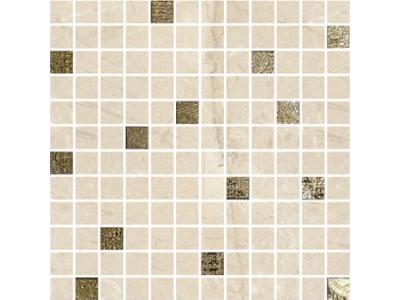 Mosaico Alberona Marfil-Gold 30 x 30