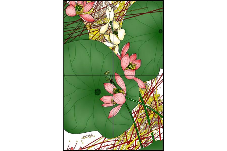 Купить Декор Lotus Decor 60X90 (30X45X4)