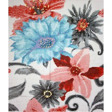 Mosaico Soul Flower Azul 190,8 x 222,6