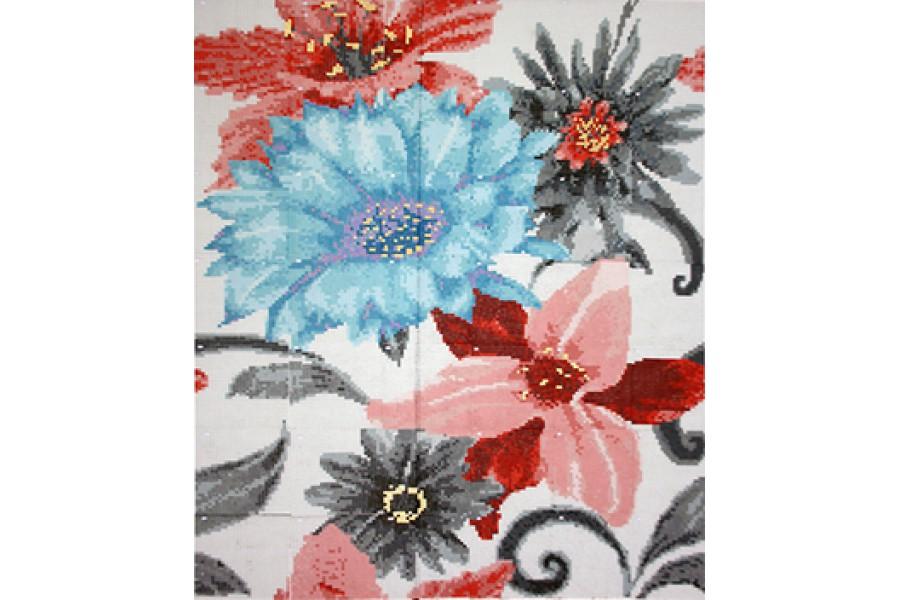 Купить Mosaico Soul Flower Azul 190,8 X 222,6