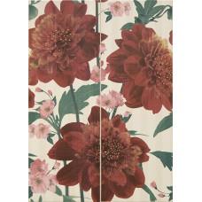 Декор BELLINI JADOR RED Composicion 50x70