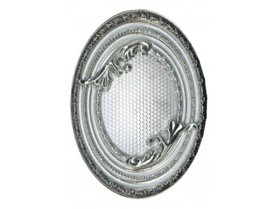 Excelsior Plata-Blanco Medallon 14x10