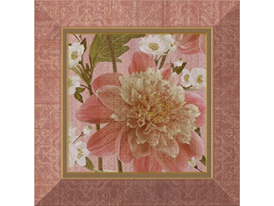 Inserto Bellini Jador Pink 25x25
