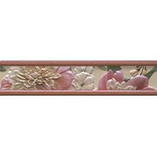 Cenefa Bellini Jador Pink 5,5x25