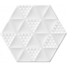 Malmo Hexa White 23,2x26,7