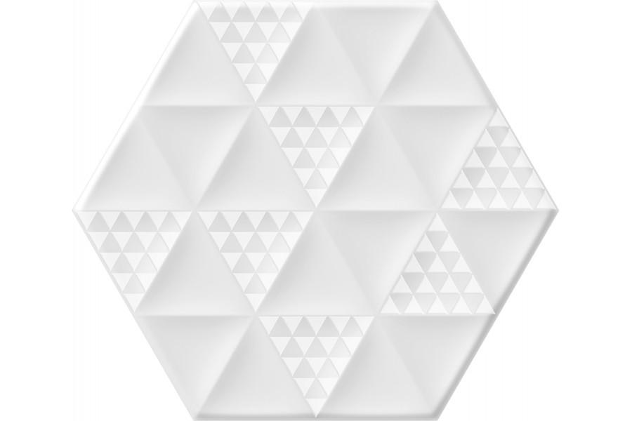 Купить Malmo Hexa White 23,2X26,7