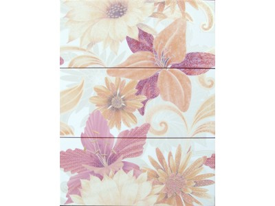 Soul Flower Decor Naranja 3x20x50