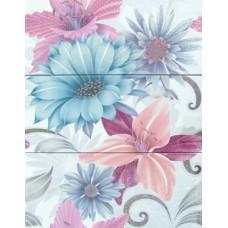 Soul Flower Decor Azul 3x20x50