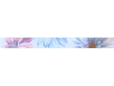 Cenefa Soul Flower Azul 4.5x50