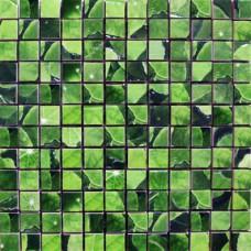 Lotus Mosaico Verde 30 x 30